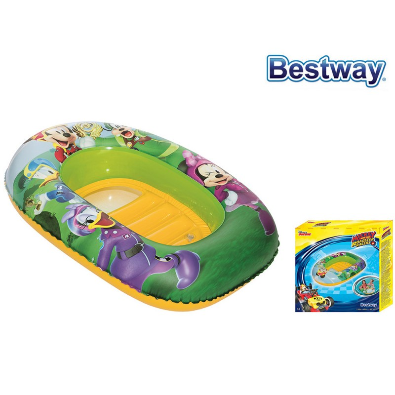 Canottino Mickey Clubhouse 102cm - Bestway - MazzeoGiocattoli.it