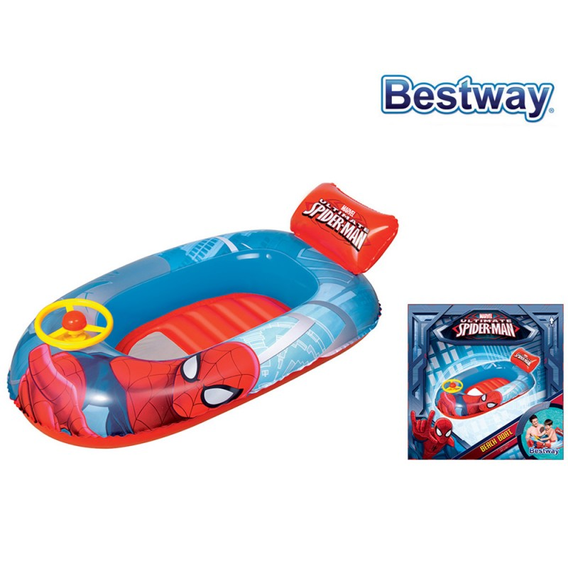 Canottino Spiderman 112cm - Bestway  - MazzeoGiocattoli.it