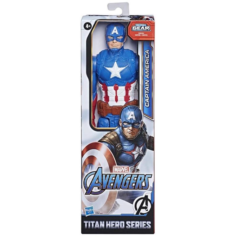 Avengers Titan Hero Capitan America - Hasbro  - MazzeoGiocattoli.it