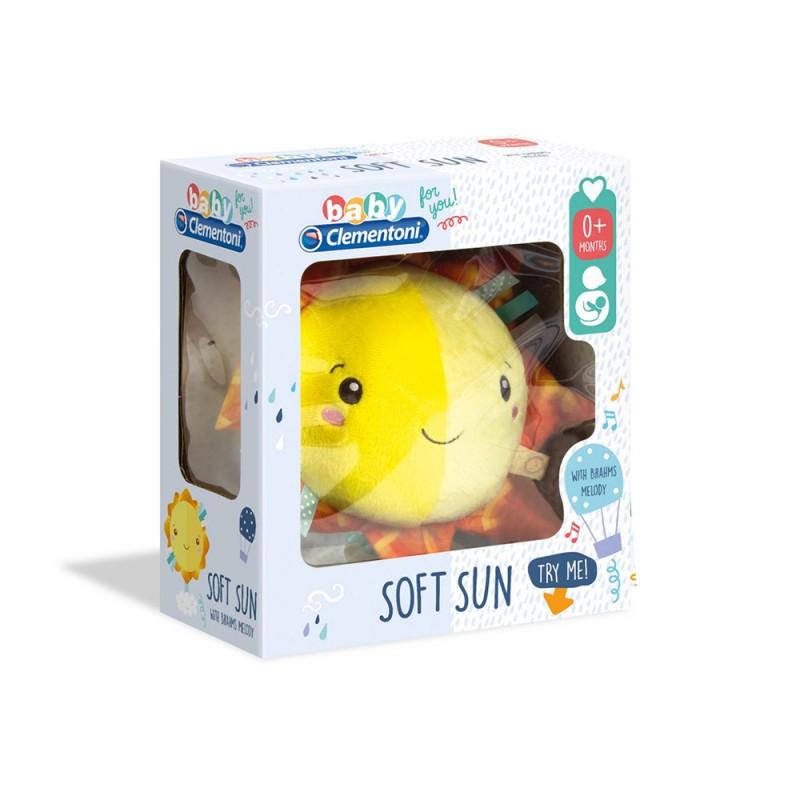 Baby For You-Soft Sun, Carillon, Multicolore - Clementoni - MazzeoGiocattoli.it
