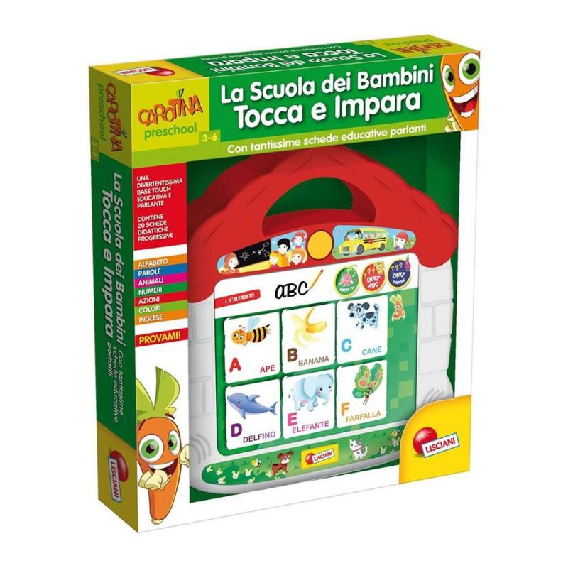 Carotina Tocca E Impara - Lisciani  - MazzeoGiocattoli.it
