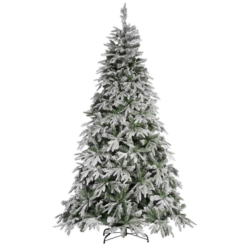 Albero Di Natale Carpino Bianco 240 Cm - MazzeoGiocattoli.it