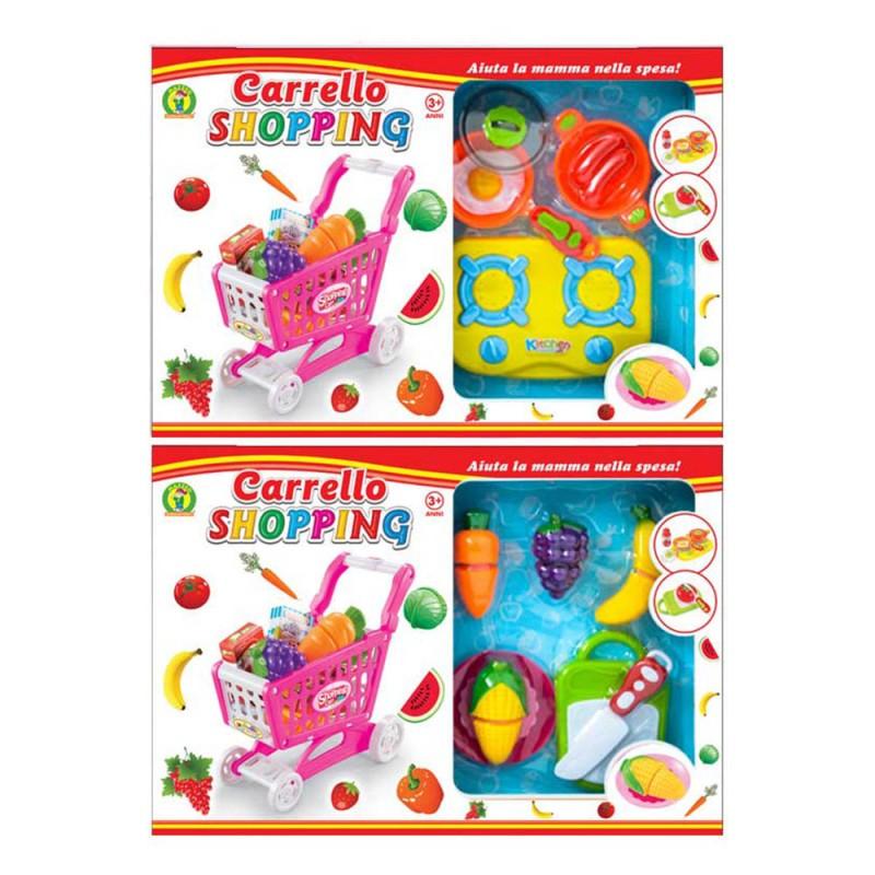 Carrello Shopping Con Accessori - Mazzeo Giocattoli - MazzeoGiocattoli.it