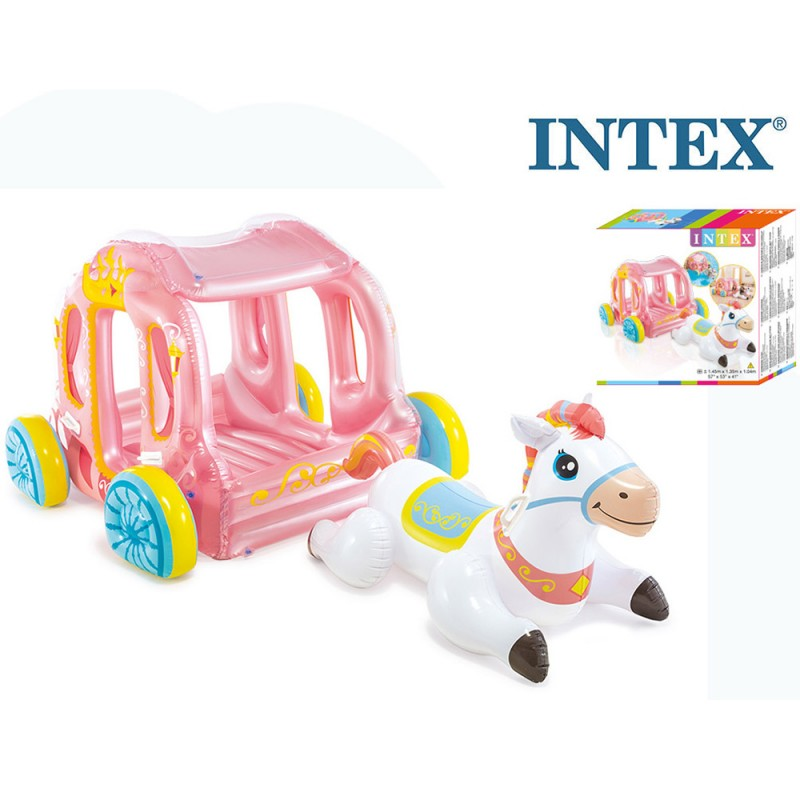Carrozza Principesse Gonfiabile - Intex - MazzeoGiocattoli.it