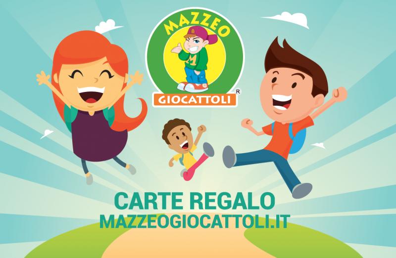 Carta Regalo Mazzeo Giocattoli - MazzeoGiocattoli.it