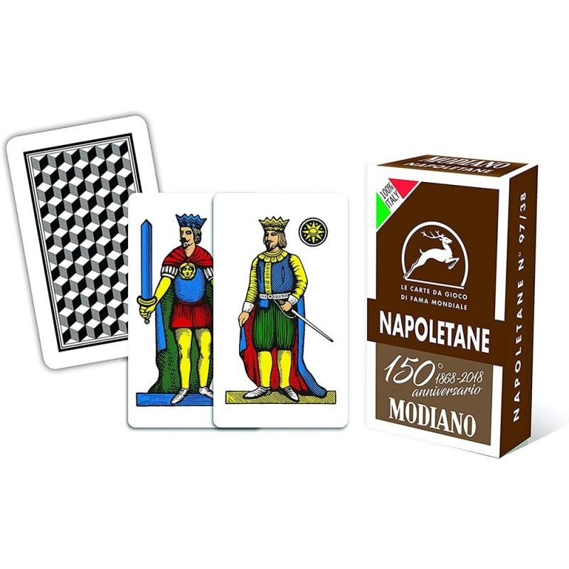 Carte Da Gioco Napoletane 150° Anniversario - Modiano  - MazzeoGiocattoli.it