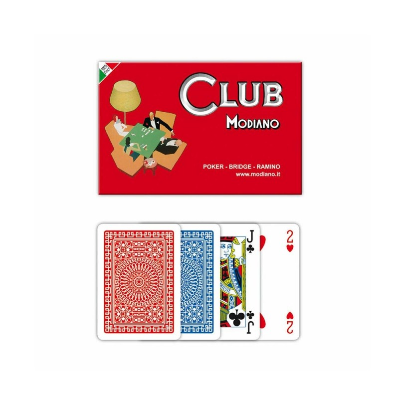 Carte Da Poker - Modiano - MazzeoGiocattoli.it