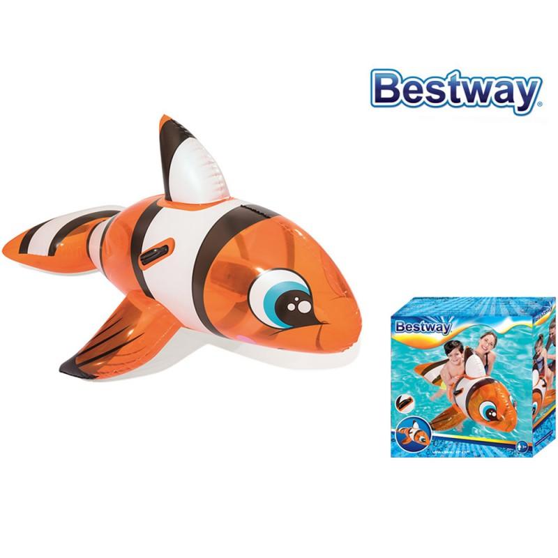Cavalcabile Pesce Pagliaccio 157cm - Bestway  - MazzeoGiocattoli.it