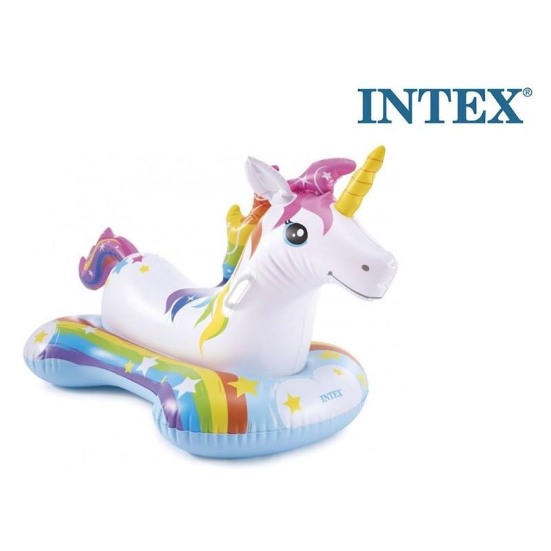 Cavalcabile Gonfiabile Unicorno - Intex  - MazzeoGiocattoli.it