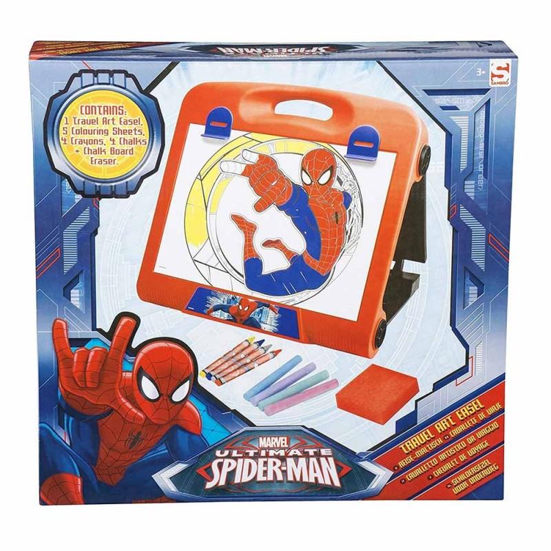 Cavalletto Da Disegno Per Viaggio Spider Man  - MazzeoGiocattoli.it