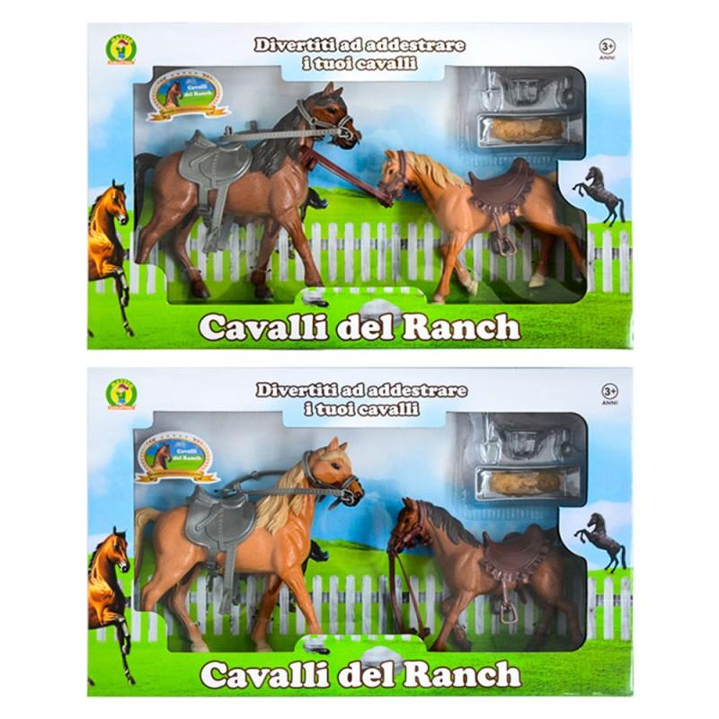 Cavalli Giocattolo Del Ranch - Mazzeo Giocattoli - MazzeoGiocattoli.it