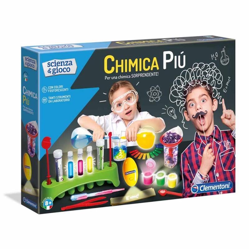 Chimica Più, Per Una Chimica Sorprendente - Clementoni  - MazzeoGiocattoli.it