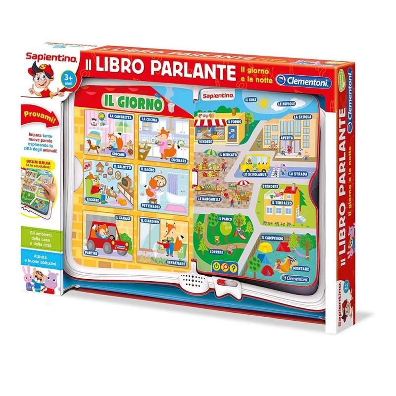 IL LIBRO PARLANTE IL GIORNO E LA NOTTE -  Clementoni - MazzeoGiocattoli.it