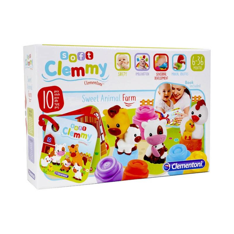 Clemmy Baby Mamma E Cuccioli Di Casa - MazzeoGiocattoli.it