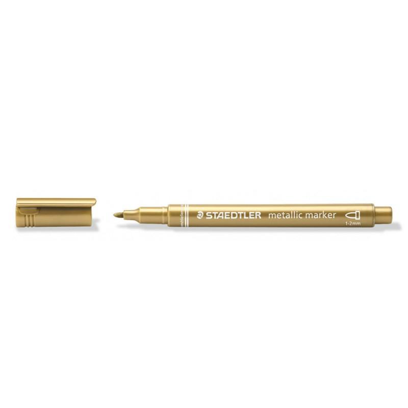 Confezione 10 Marcatori Color Oro Metallici - Staedtler  - MazzeoGiocattoli.it