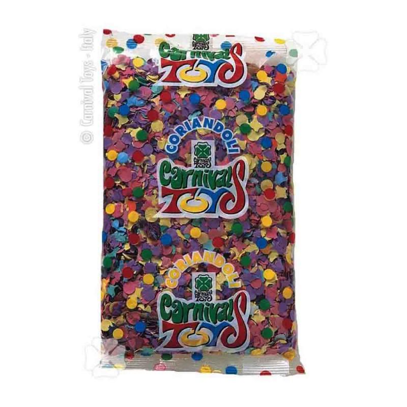 Confezione 1 Kg Coriandoli Multicolor  - MazzeoGiocattoli.it