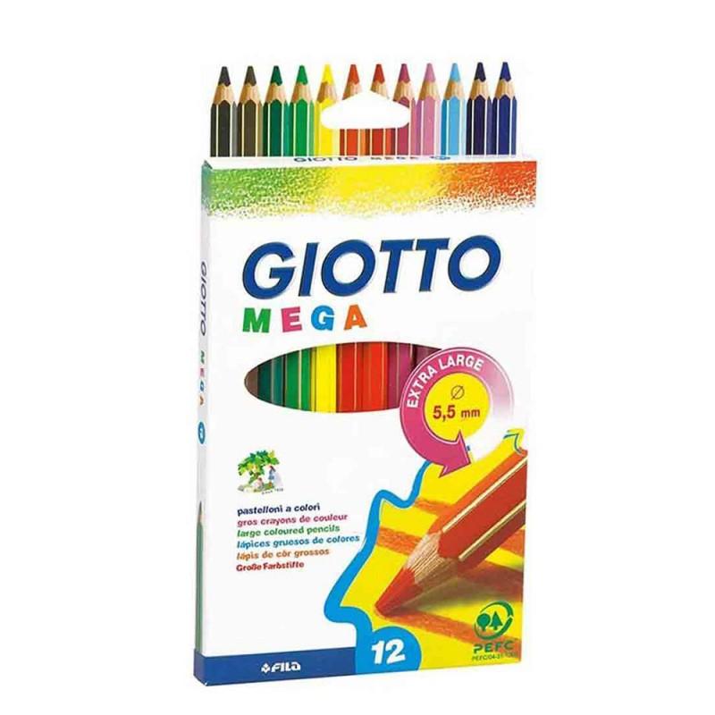 Confezione Da 12 Pastelli - Giotto  - MazzeoGiocattoli.it