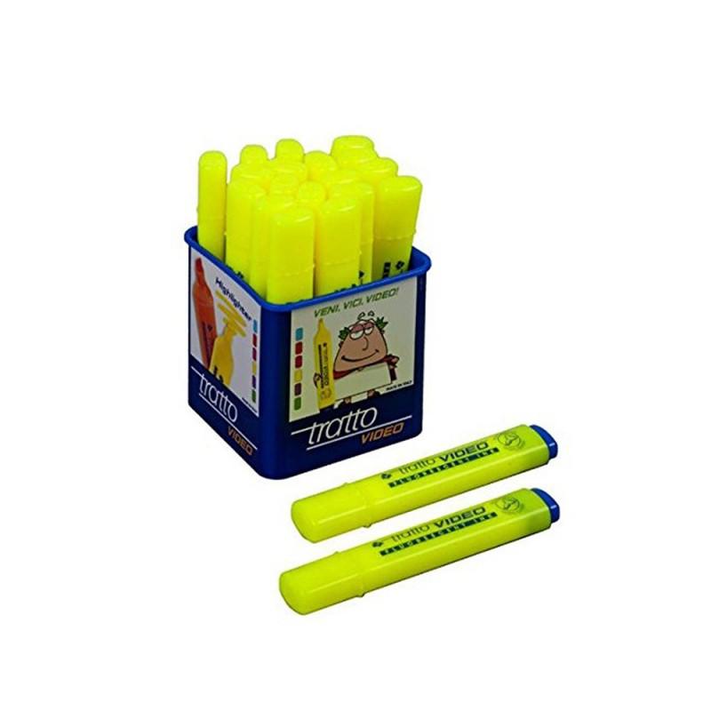 Confezione Da 20 Evidenziatori Color Giallo - Fila  - MazzeoGiocattoli.it