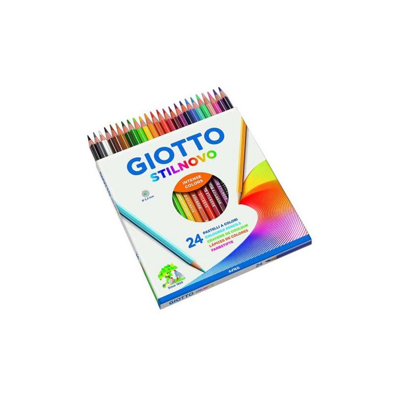 Confezione Da 24 Pastelli - Giotto - MazzeoGiocattoli.it