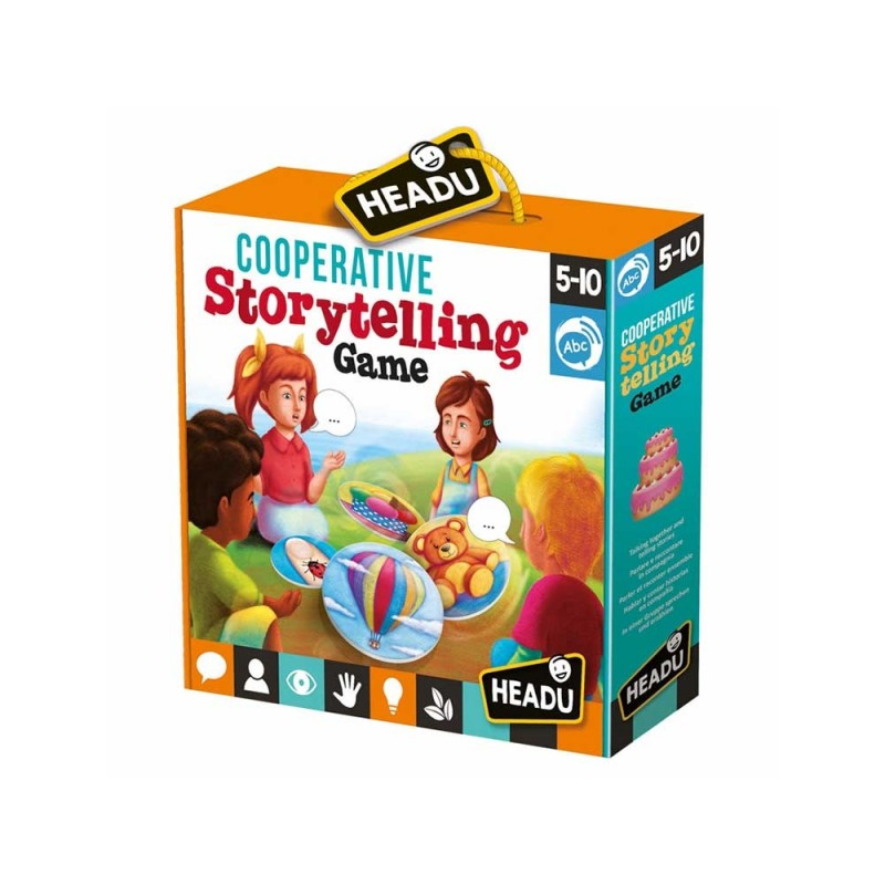 Cooperative Storytelling Game - Headu  - MazzeoGiocattoli.it