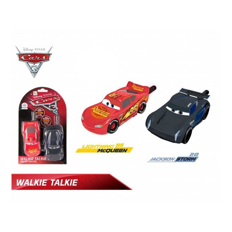 Coppia Di Walkie Talkie Cars 3 - Imc Toys - MazzeoGiocattoli.it
