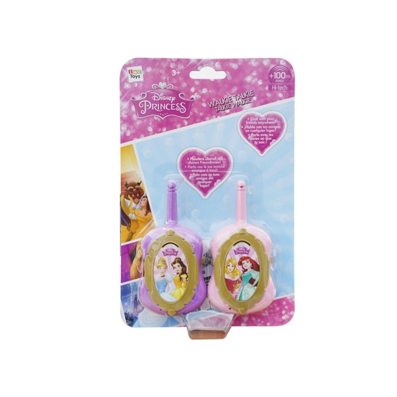 Coppia Di Walkie Talkie Principesse Disney - Imc Toys  - MazzeoGiocattoli.it