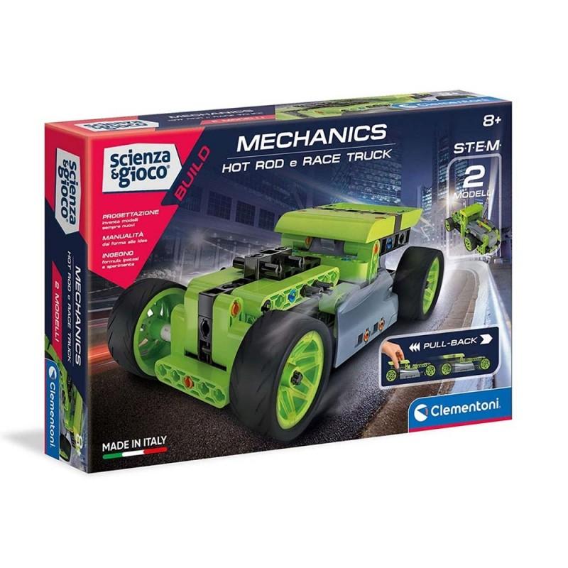 Costruzioni Mechanics Hotrod E Race Truck - Clementoni  - MazzeoGiocattoli.it