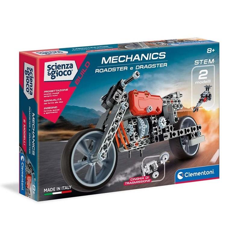 Costruzioni Mechanics Roadster E Dragster - Clementoni  - MazzeoGiocattoli.it