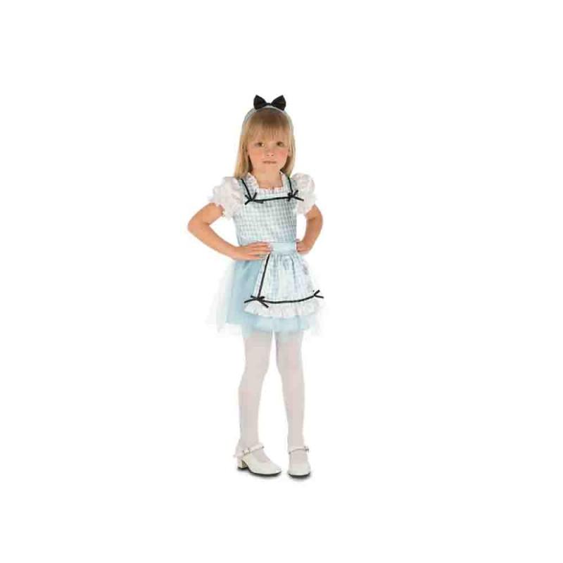 Costume Di Carnevale Da Alice Per Bambina - 5-6 Anni - MazzeoGiocattoli.it