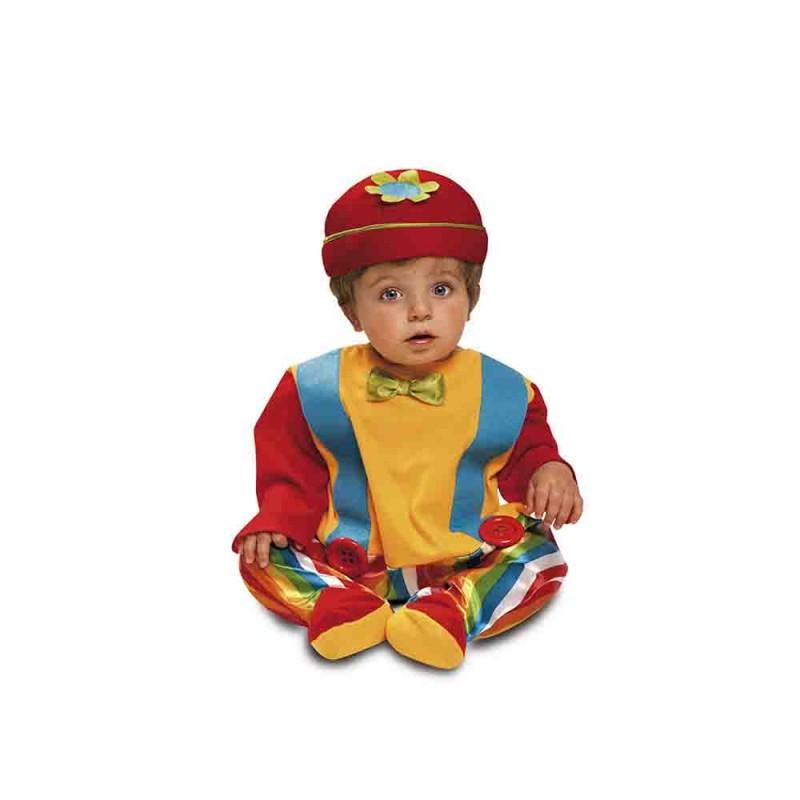 Costume Baby Clown Per Bambino - 12-24 Mesi - MazzeoGiocattoli.it