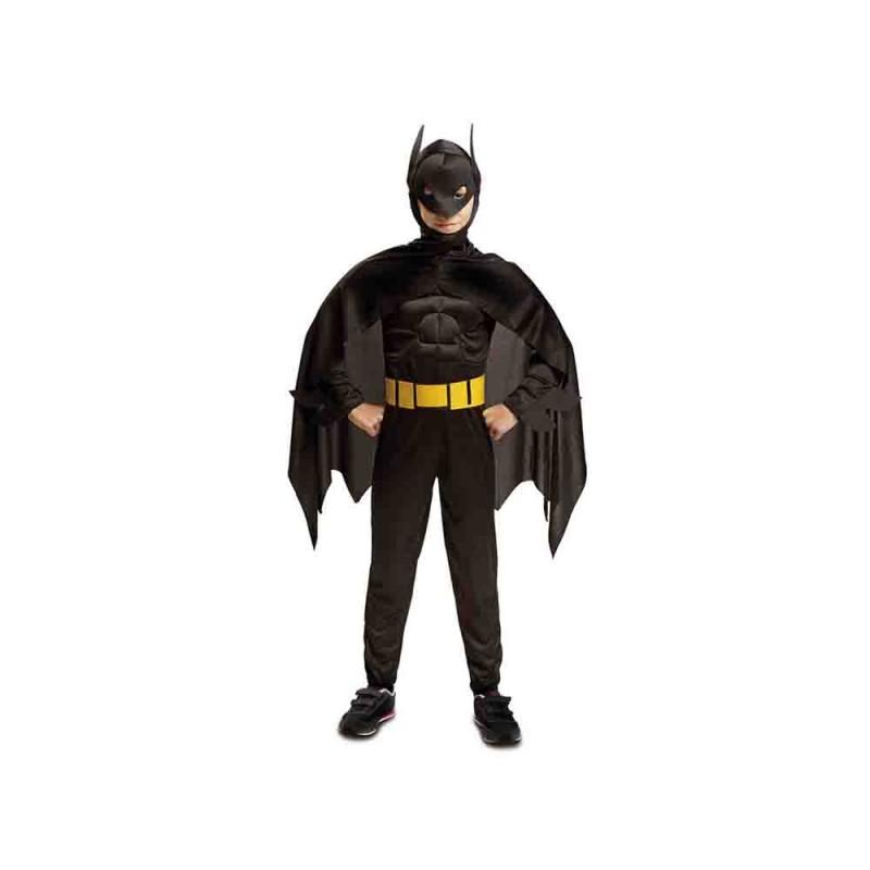 Costume Blackman Per Bambini 5-6 Anni - MazzeoGiocattoli.it