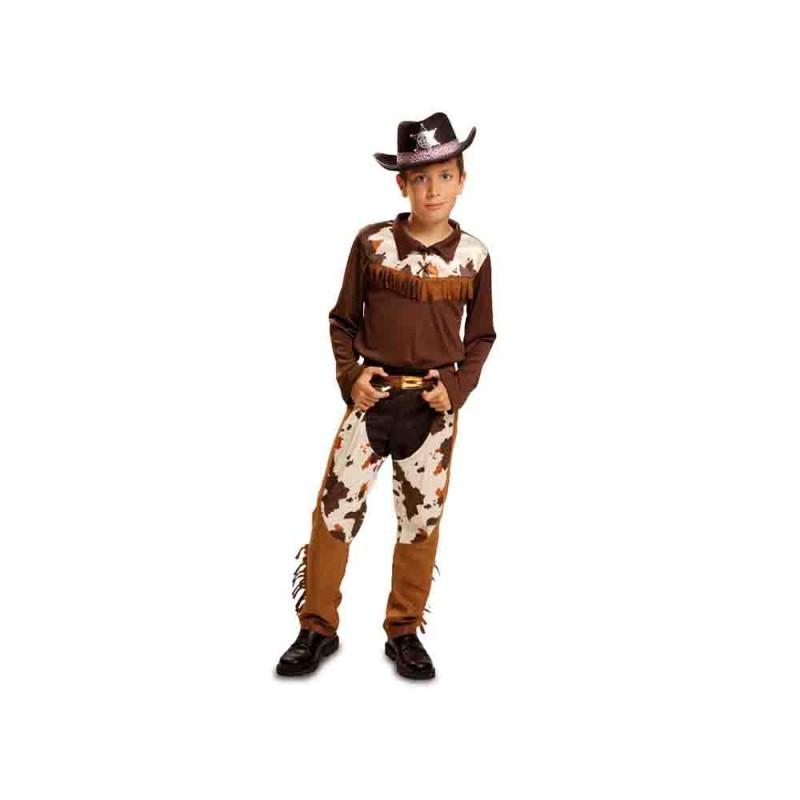Costume Da Cowboy Per Bambino - 5-6 Anni - MazzeoGiocattoli.it