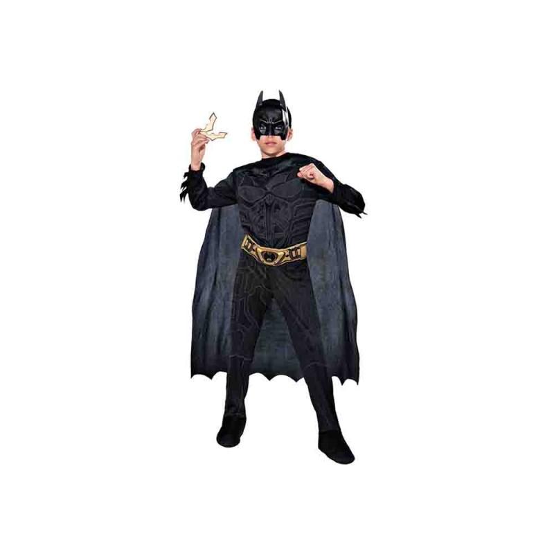Costume Da Batman Bambino Taglia M - MazzeoGiocattoli.it