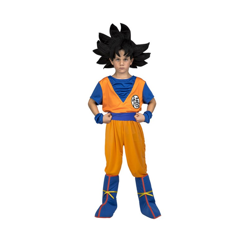 Costume Di Carnevale Da Goku - Per Bambino 5-6 Anni - MazzeoGiocattoli.it