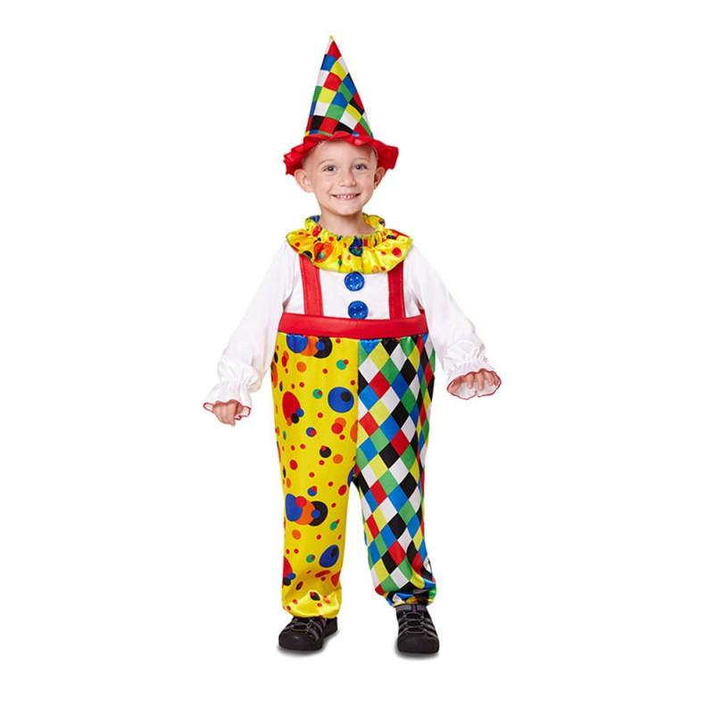 Costume Da Clown Per Bambino 12 - 24 Mesi - MazzeoGiocattoli.it