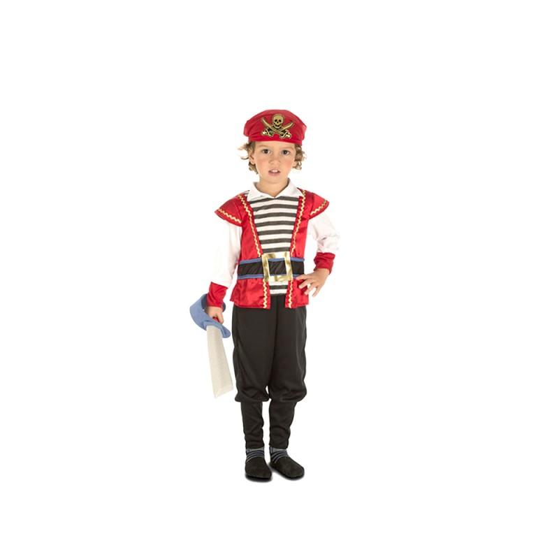 Costume Da Pirata Per Bambino - 5-6 Anni - MazzeoGiocattoli.it