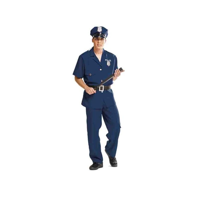 Costume Da Poliziotto Adulto Taglia M-L - MazzeoGiocattoli.it