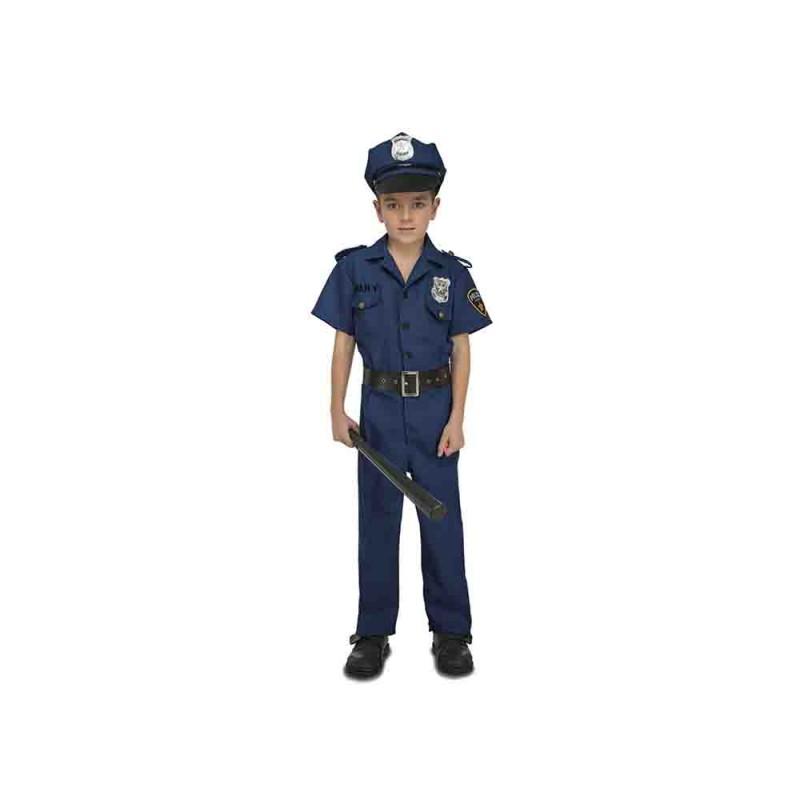 Costume Da Poliziotto Bambino Taglia 5-6 Anni - MazzeoGiocattoli.it