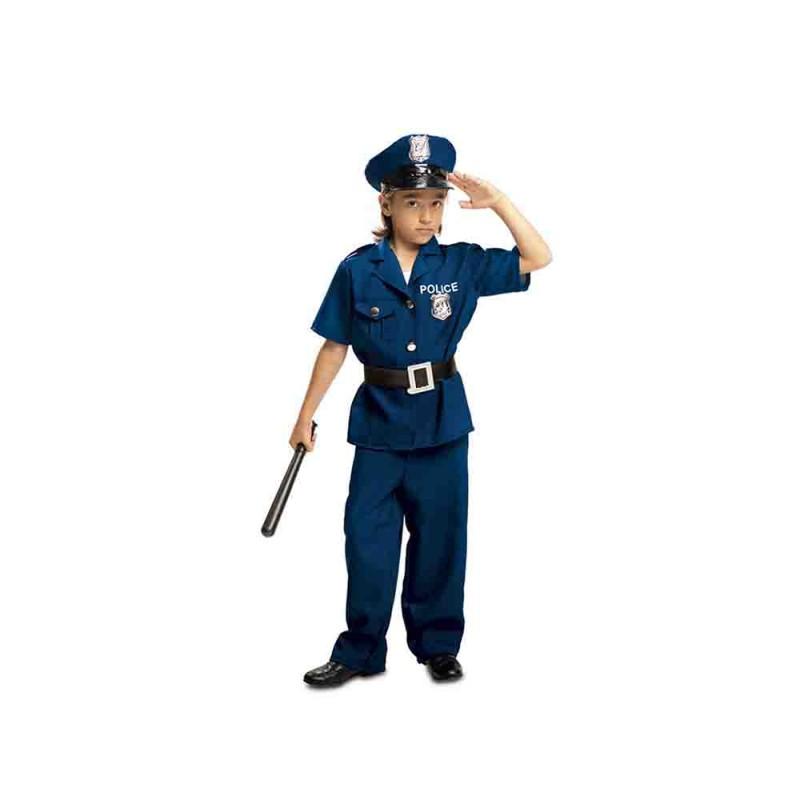 Costume Da Poliziotto Bambino Taglia 7-9 Anni - MazzeoGiocattoli.it
