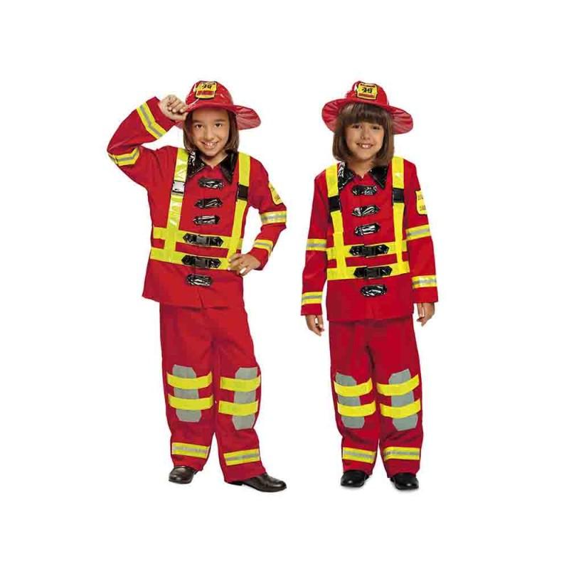 Costume Da Pompiere Bambino Taglia 5-6 Anni - MazzeoGiocattoli.it
