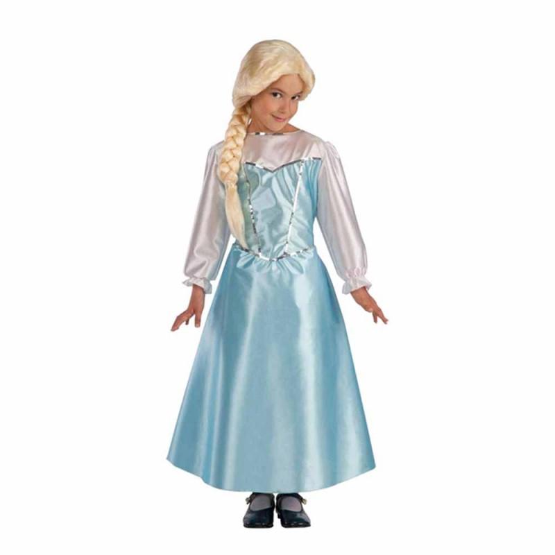 Costume Carnevale Da Principessa, Per Bambina, Taglia IV - MazzeoGiocattoli.it