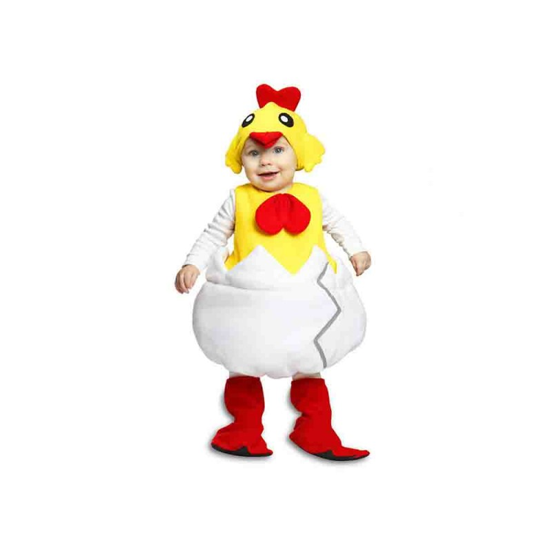 Costume Da Pulcino Per Bambino Taglia 12-24 Mesi - MazzeoGiocattoli.it