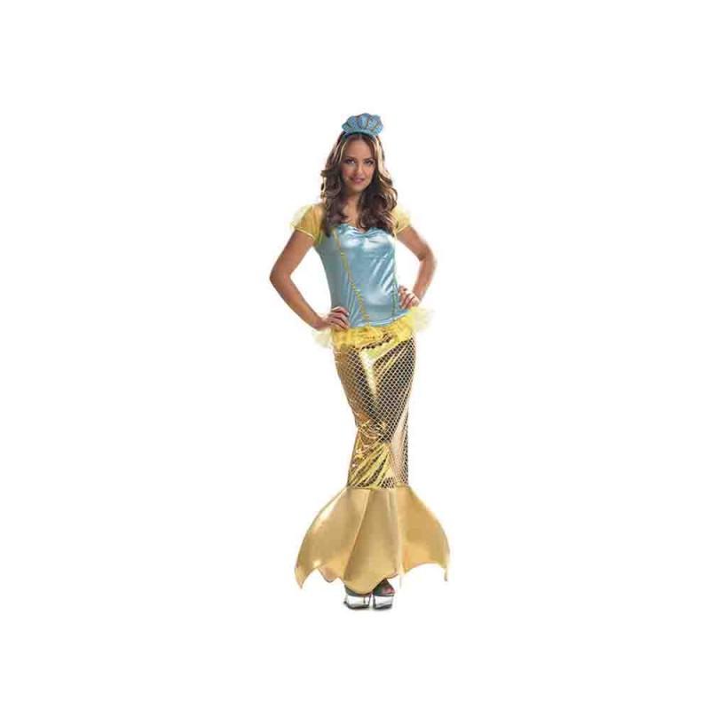 Costume Da Sirenetta Taglia M-L - MazzeoGiocattoli.it