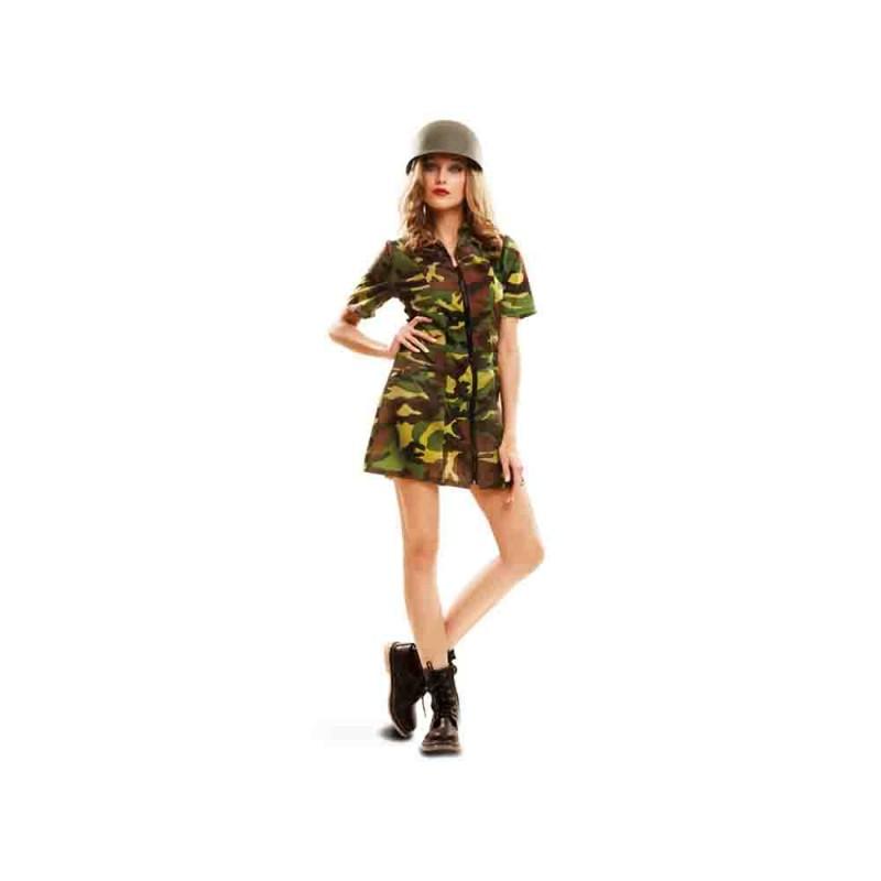 Costume Da Soldato Donna Taglia S - MazzeoGiocattoli.it