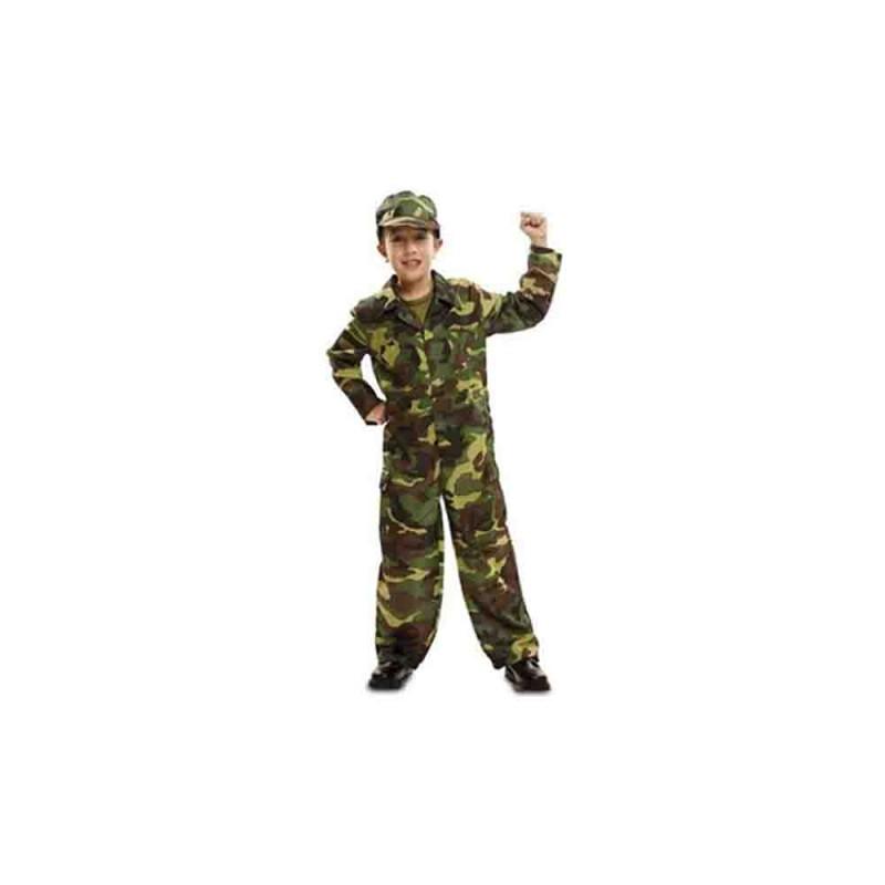 Costume Da Soldato Per Bambino Taglia 5-6 Anni - MazzeoGiocattoli.it