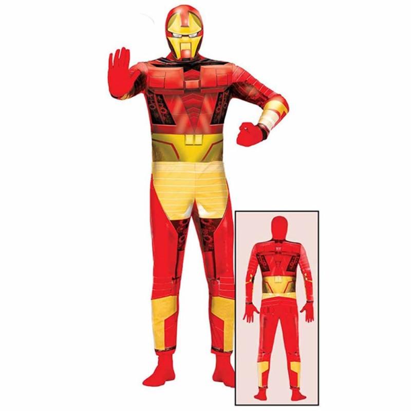 Costume Supereroe Bionico, Adulto Taglia 48-50 - MazzeoGiocattoli.it
