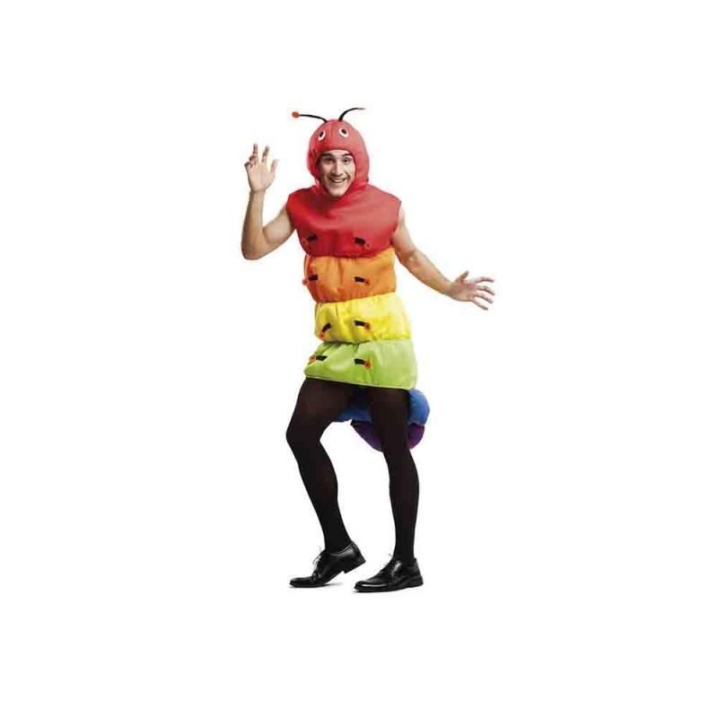 Costume Da Uomo Verme - Taglia M-L  - MazzeoGiocattoli.it