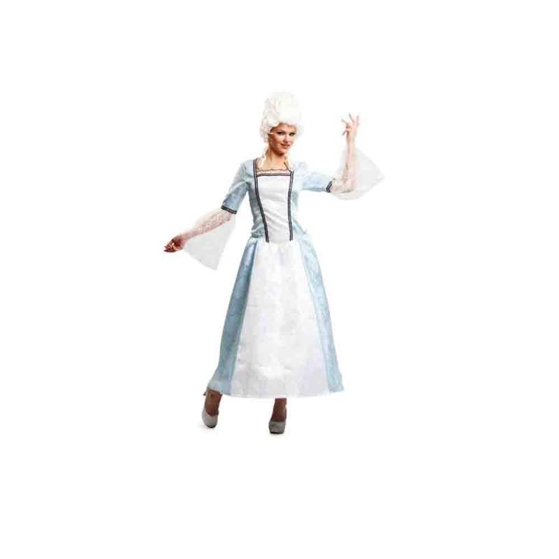 Costume Dama Di Versailles Per Adulta - Taglia M-L - MazzeoGiocattoli.it