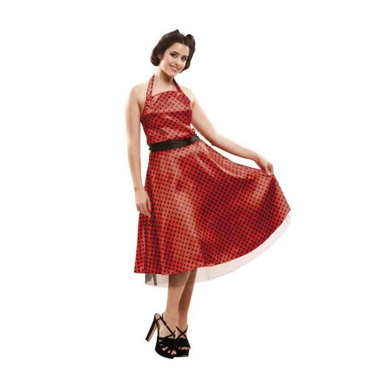 Costume Donna Anni 50 Taglia M - L - MazzeoGiocattoli.it
