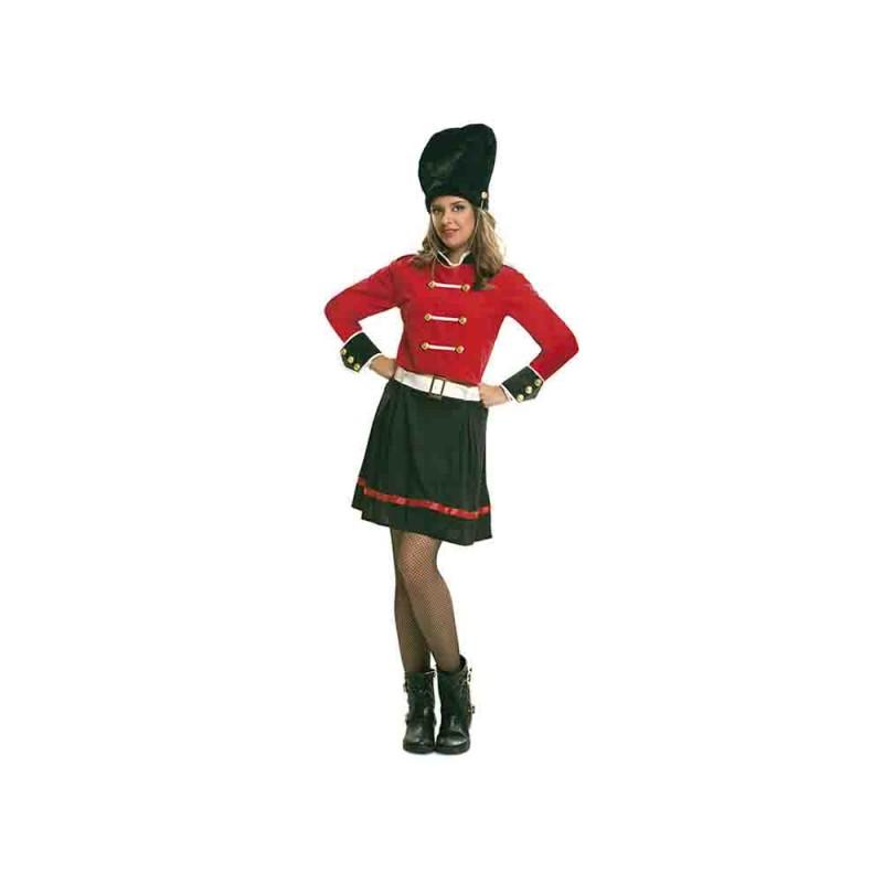 Costume Guardia Inglese Donna - Taglia M-L - MazzeoGiocattoli.it